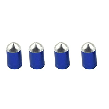 pushfocourag 4 Tapones de válvula Presta de Aluminio para ...