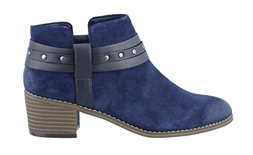 navy blue ankle boots - 4