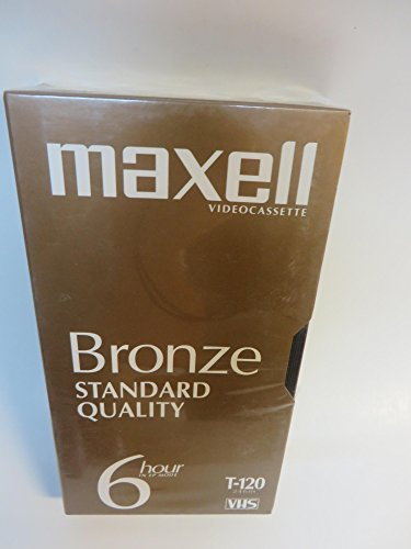 Maxell Bronze Standard Quality 6 Hour in Ep Mode T-120