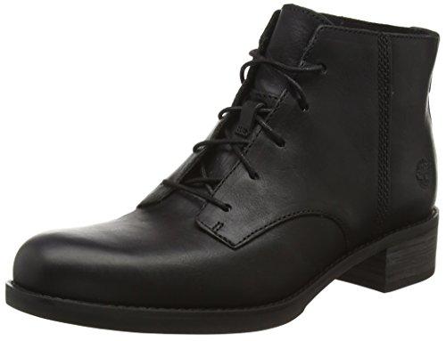 Timberland Beckwith_beckwith_beckwith Lace Chukka, Zapatillas de Estar por Casa para Mujer Negro - Schwarz (Jet Black Forty)