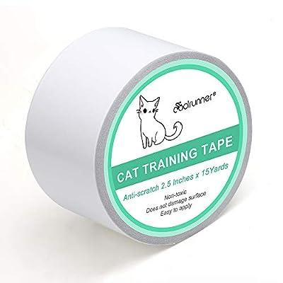 Cat scratching Coolrunner Anti-Scratch Cat Training Tape, Cat Scratch Tape,... [tag]