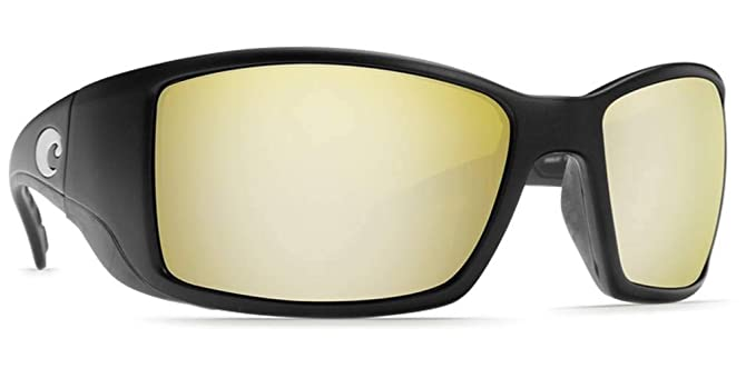 0c517273e3 Costa Del Mar Blackfin Sunglasses Black Silver Sunrise Mirror 580Plastic