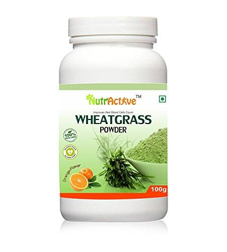 wheatgrass powder orange - 5
