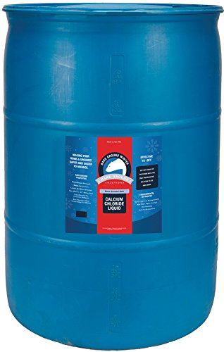 Bare Ground Bolt BGB-30DC Fast-Acting CaCl2 Ice Melt Liquid for All Surfaces in Professional Drum, 30 Gallons ()