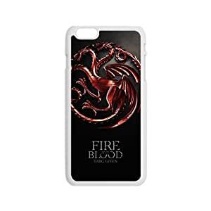 Happy Fire Blood Fashion Comstom Plastic case cover For Iphone 6