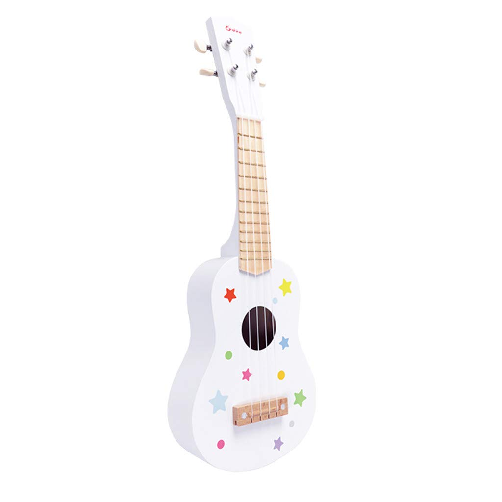 MINKOU 21Inch Guitar Toy for Baby, Kids Boys Girls Beginners'Music Toy Childs' Gift (White) by MINKOU