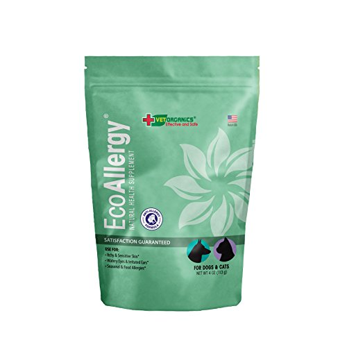 Anti-Allergy for Dogs & Cats Use Our All-Natural Product If Your Dog or Cat Suffers from Occasional or Chronic Pet Allergies Symptoms. Provides Lasting Allergy Relief For Dogs or Cats. (4oz)