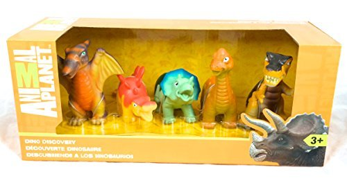 (Animal Planet Dino Discovery Play Set, 5-Pack )