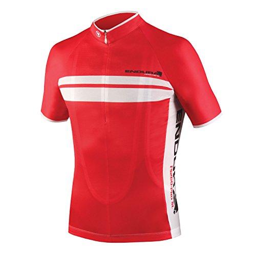 Endura Pro SL Cycling Jersey Red, - Triathlon Chicago Clothing