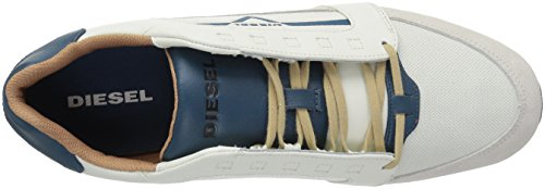 authentic sale online buy cheap outlet store Diesel Men's V-Staffetta S-Fleett Fashion Sneaker Dirty White/Legion Blue cheap sale pictures tYWyGP