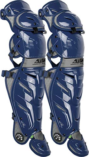 All-Star Adult System 7 Axis Catcher's Leg Guards All Star Leg Guards