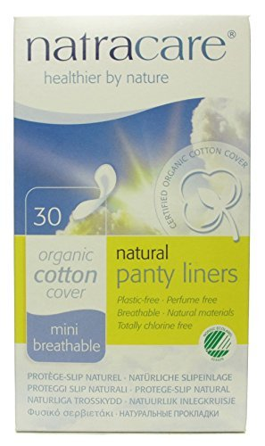 Natracare 3050 Natural Panty Shields 30 Count
