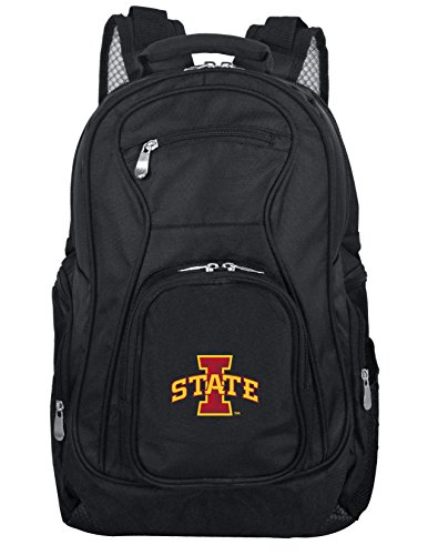 (Denco NCAA Iowa State Cyclones Voyager Laptop Backpack, 19-inches, Black)