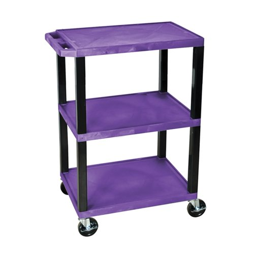 H WILSON WT34PS Commercial Busing Cart, 34