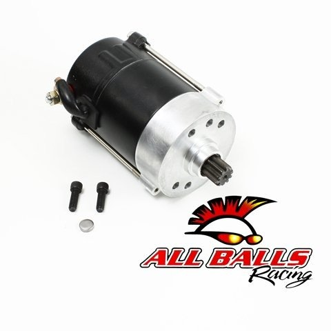 Prestolite Starter Motors - All Balls 80-1007 High-Performance Starter Motor (Prestolite) - 1.4kW - Black
