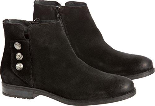Co Waterproof Suede Boot - Bos. & Co. Women's Sheridan Waterproof Suede Ankle Boots