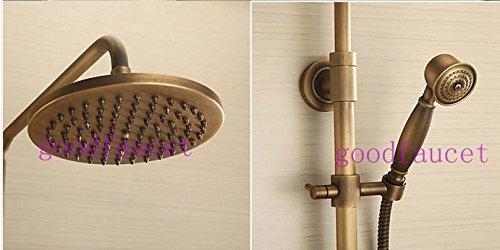 GOWE Bathroom shower faucet antique bronze bathroom shower set faucet mixer tap wall mount shower 2
