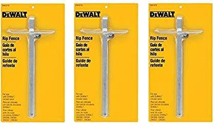 DEWALT DW3278 Circular Saw Rip Fence. 3 PACK