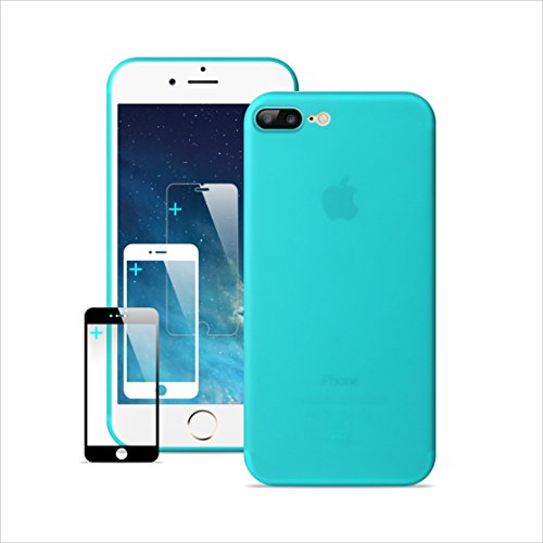 IPhone 7 Plus Case IPhone 8 Plus Case Ultra Thin Slim Anti-Scratch Protection Case Full Surrounded Dirty Proof Anti-Yellowing & Non-fading good touch feeling 7P/8P Protector-Transparent - 150 Under Tiffany