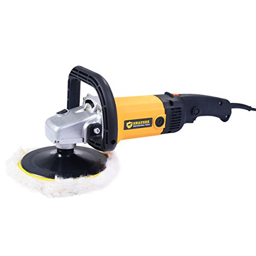 New 7'' Electric 6 Variable Speed Car Polisher Buffer Waxer Sander Detail Boat by Mybesty (Image #5)