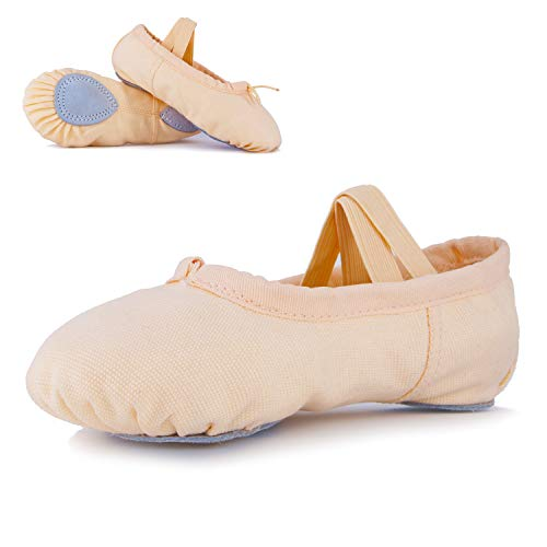 Ballet Shoes for Girls Toddler Canvas Dance Ballet Slippers