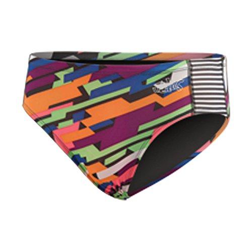 DOLFIN Uglies Men's Racer Swimsuit,Speedy (699),26