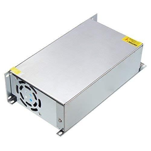Kitoola AC110V/AC220V から DC 48v 20a 1000w スイッチ電源ドライバトランスアダプタ   B07HK2T3JS