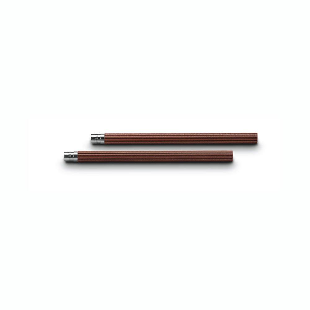 Graf von Faber-Castel Perfect Pencil Magnum-Sized Refills, Set of 5, Brown (FC118645)