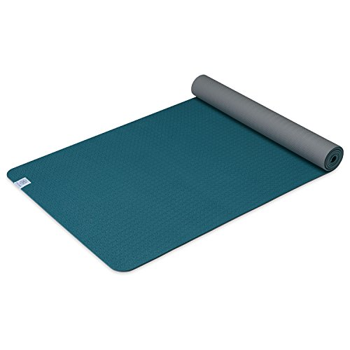 Gaiam Yoga Mat Performance TPE Exercise Fitness Mat for All Types of Yoga, Pilates Floor Exercises