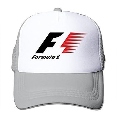 MFSH Formula 1 Logo Unisex Up Adjustable Truck Hat Trucker Cap,One Size Fits Most Mesh Hat. from MFSHION