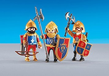 PLAYMOBILÂ Playmobil Add-On Series - 3 Lion Knights -
