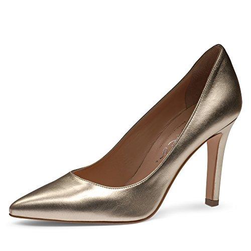 Evita Shoes Ilaria Damen Pumps Glattleder Gold
