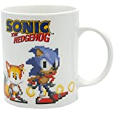 ABYstyle ABYMUG111taza de Sonic, de Píxeles, porcelana, 320ml, Multicolor