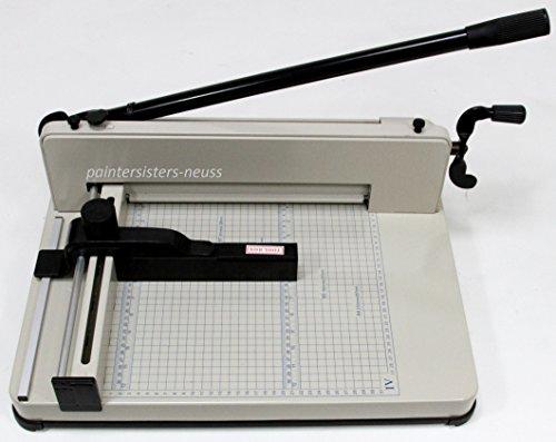 PROFI Stapelschneider A4 bis 400 Blatt, CE, Schneidemaschine + Hebelschneider