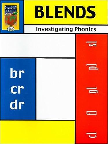 Amazon.com: Investigating Phonics, Blends (9781583241455): Kevin ...