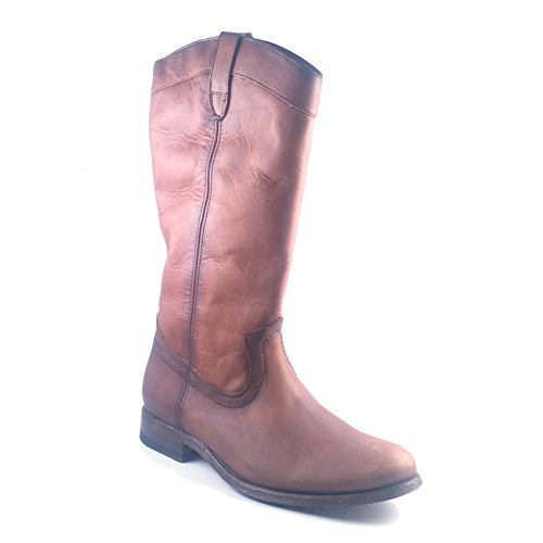 Vintage Oiled Women's Melissa Fashion Washed Pull FRYE Boot On Cognac zS6v8q