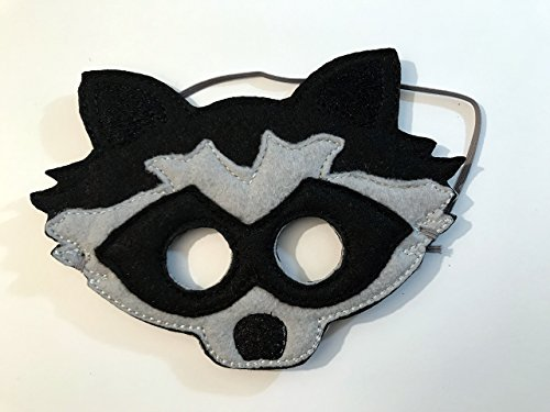 Kids Felt Raccoon Animal Mask ()