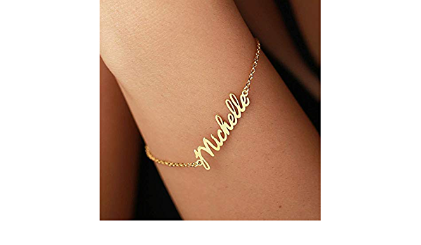 Custom Jewelry Gold Plated 15 Fonts Style To Choose Custom Bracelet Custom Name Bracelet Customize Your Name Bracelet Any Name Bracelet