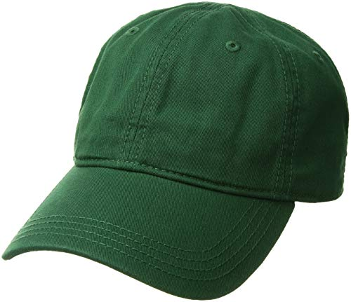 Lacoste Men's Classic Gabardine 3cm Croc Cap, Green, for sale  Delivered anywhere in Canada