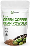 Maximum Strength Pure Green Coffee Bean Super Extract Powder (50% Active Chlorogenic Acid), 4 Ounce, Powerful Metabolism Booster and Weight Loss Supplement, Non-GMO and Vegan Friendly.