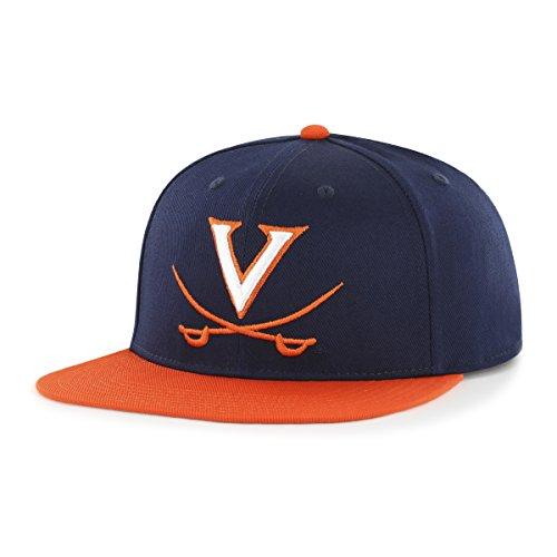 Virginia Cavaliers Hat Cap - NCAA Virginia Cavaliers Gallant OTS Varsity Snapback Adjustable Hat, One Size, Navy