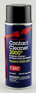CRC Contact Cleaner 2000 Precision Cleaner, Wide Cap, 13 Oz, Pack of 12 Cans by CRC