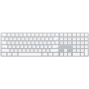 apple magic keyboard with numeric keypad wireless rechargable us english. Black Bedroom Furniture Sets. Home Design Ideas