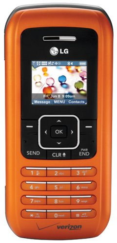 LG enV VX9900 Phone, Orange (Verizon Wireless, Phone Only, No Service)