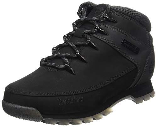 Timberland Men's Ankle Chukka Boots, Black Black Grey, 42 EU (Best Hiking Boots Uk 2019)