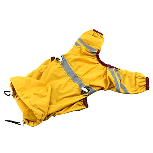 Waterproof Pet Clothes Raincoat - 9