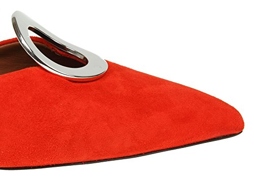 very cheap cheap online new arrival sale online Proenza Schouler Women's PS3012507030368 Red Suede Sandals free shipping best sale classic for sale cheap sale new arrival ITQJvDMsSz