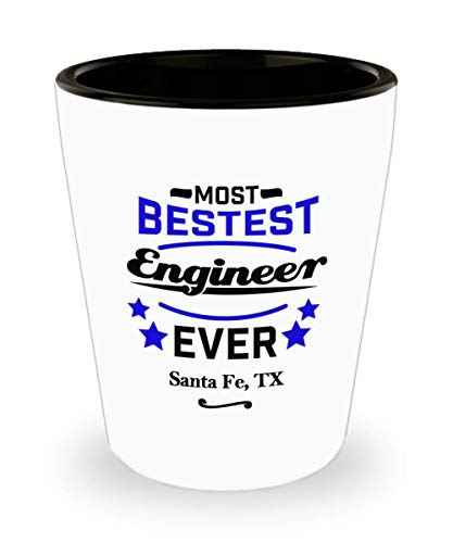 - Funny Shot Glass For Engineers: