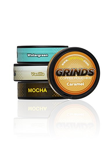 - Grinds Coffee Pouches - The Top 4 Flavors Sampler Pack