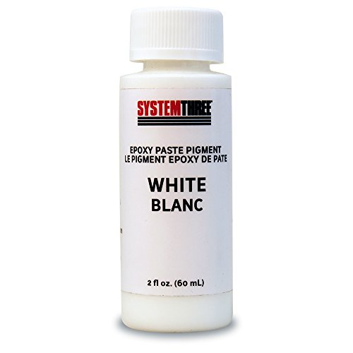 System Three 3200A04 White Paste Pigment Coating, 2 oz. ()